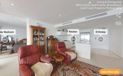 360 Virtual Photo Tours - Gold Coast Property Photography
