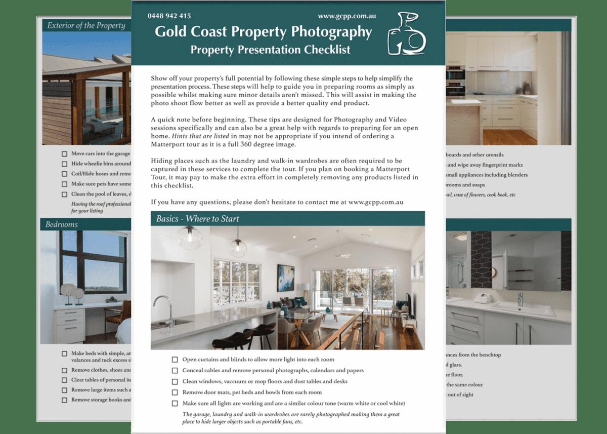 Property Presentation Checklist - Real Estate Photography
